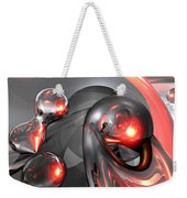 Mercury Rising Abstract Weekender Tote Bag