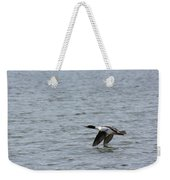 Merganser Duck Weekender Tote Bag