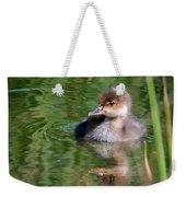 Merganser Duckling Weekender Tote Bag