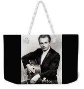 Merle Haggard, Music Legend By John Springfield Weekender Tote Bag