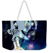 Merlin In The Cosmos Weekender Tote Bag