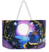 Merlin's Moon Weekender Tote Bag