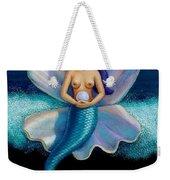Mermaid Art- Mermaid's Pearl Weekender Tote Bag