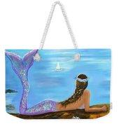 Mermaid Beauty On The Beach Weekender Tote Bag