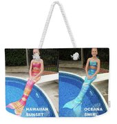 Mermaid Costume For Kids In Canada Weekender Tote Bag