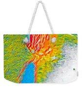 Mermaid Dives In Weekender Tote Bag