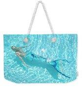 Mermaid Glide Weekender Tote Bag
