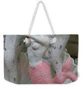 Mermaid In Pink Weekender Tote Bag