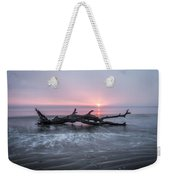 Mermaid In The Surf Weekender Tote Bag