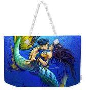 Mermaid Kiss Weekender Tote Bag