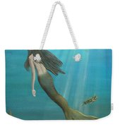 Mermaid Of Weeki Wachee Weekender Tote Bag