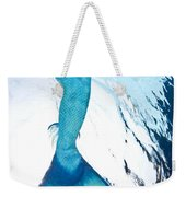 Mermaid Rise Weekender Tote Bag