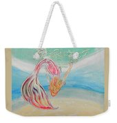 Mermaid Summer Salt Weekender Tote Bag