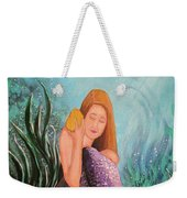 Mermaid Under The Sea Weekender Tote Bag