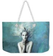 Mermaid Water Spirit Weekender Tote Bag