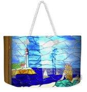 Mermaid Window  Weekender Tote Bag