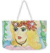 Mermaid With Music  Weekender Tote Bag