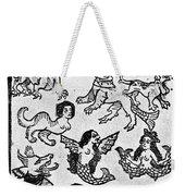 Mermaids, 1475 Weekender Tote Bag