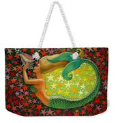 Mermaid's Circle Weekender Tote Bag