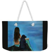 Mermaids Loyal Bud Weekender Tote Bag