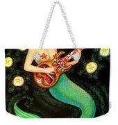 Mermaids Rock Tiki Guitar Weekender Tote Bag