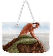 Merman Resting Weekender Tote Bag