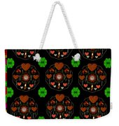 Merry And Happy  Candy With Flair Weekender Tote Bag
