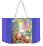 Merry Christmas 1 Weekender Tote Bag