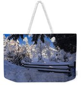 Merry Christmas And A Happy New Year Weekender Tote Bag