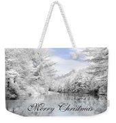 Merry Christmas - Lykens Reservoir Weekender Tote Bag