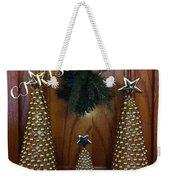 Merry Christmas Trees Weekender Tote Bag
