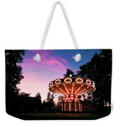 Merry - Go - Round At Sunset Weekender Tote Bag