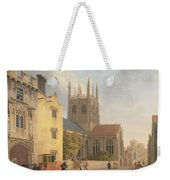 Merton College - Oxford Weekender Tote Bag