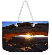 Mesa Sunrise Weekender Tote Bag by Chad Dutson
