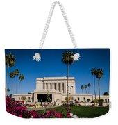 Mesa Temple Petunia Weekender Tote Bag