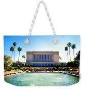 Mesa Temple Pool Weekender Tote Bag