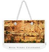 Mesa Verde Colorado Gallery Series Collection Weekender Tote Bag