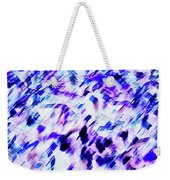 Mess In Blue Tones Weekender Tote Bag