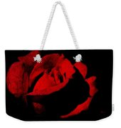 Seduction In Red Weekender Tote Bag