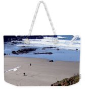 Message In The Sand Weekender Tote Bag