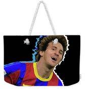 Messi 3498 By Nicholas Nixo Efthimiou Weekender Tote Bag