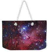 Messier 16, The Eagle Nebula In Serpens Weekender Tote Bag