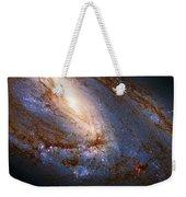 Messier 66 Galaxy Enhanced Weekender Tote Bag