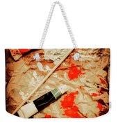 Messy Painters Palette Weekender Tote Bag