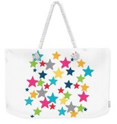 Messy Stars- Shirt Weekender Tote Bag by Linda Woods