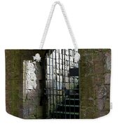 Metal Cage Door Weekender Tote Bag