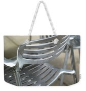Metal Chair Weekender Tote Bag