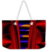 Metal Ribs Weekender Tote Bag