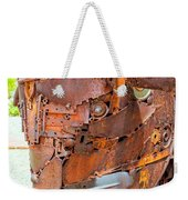Metal Steer  Weekender Tote Bag