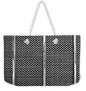 Metal Texture No.18 Bw Weekender Tote Bag